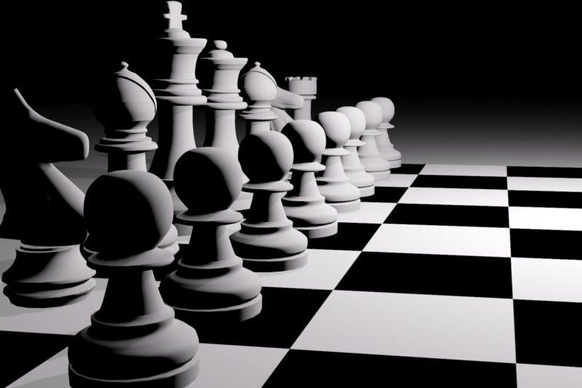 šachová utkání dělá ten chlap, kterého chodím, opravdu jako já